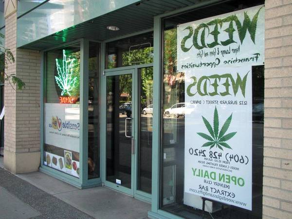 Vancouver Bc Weed Shops Gastown